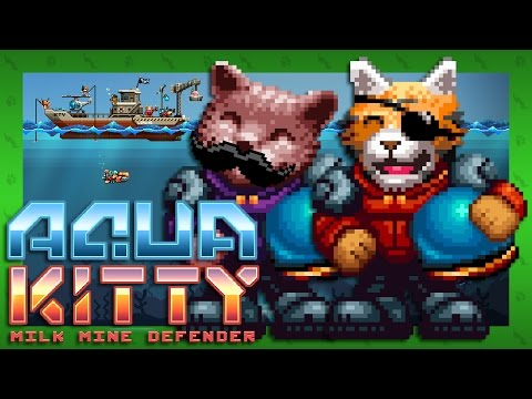 HE WHO CONTROLS THE MILK - Aqua Kitty: Milk Mine Defender (Steam)