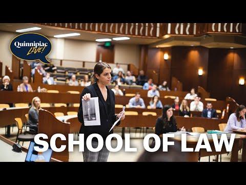 Quinnipiac Live!: Quinnipiac School of Law- October 2018