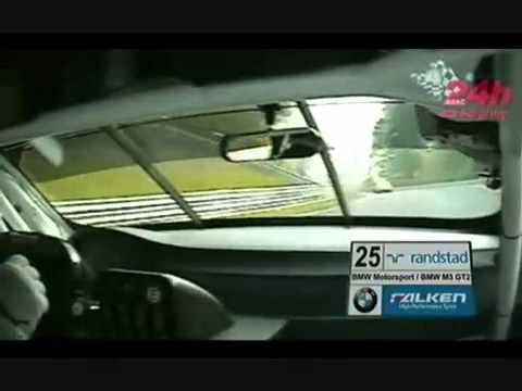 2010 Nurburgring 24 hours BMW M3 GT2 Hotlap.mp4