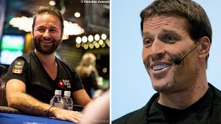 Who Said it - Daniel Negreanu or Tony Robbins?
