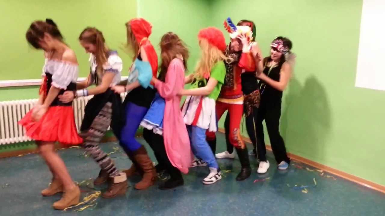 Karneval Tanzgruppe