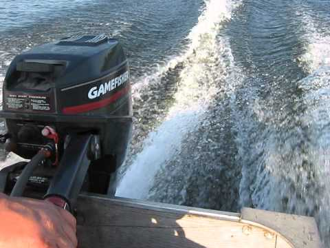 1993 9.9 Hp Gamefisher Outboard Motor