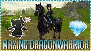 Video Maxing my friesian Dragonwarrior to level 15 | Star Stable download MP3, 3GP, MP4, WEBM, AVI, FLV November 2017