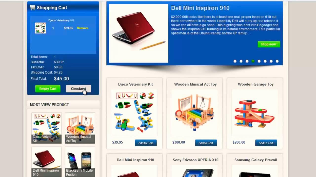 How to make e commerce blogger websites by mickyworld