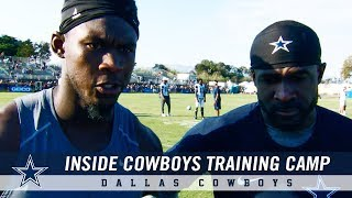 Inside Cowboys Training Camp: Revamped Wide Receiver Group | Dallas Cowboys 2018
