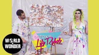 Splatter Painting: Detox