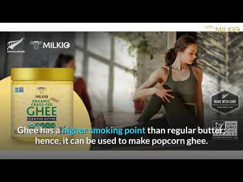 Ghee Popcorn: Healthy and Tasty