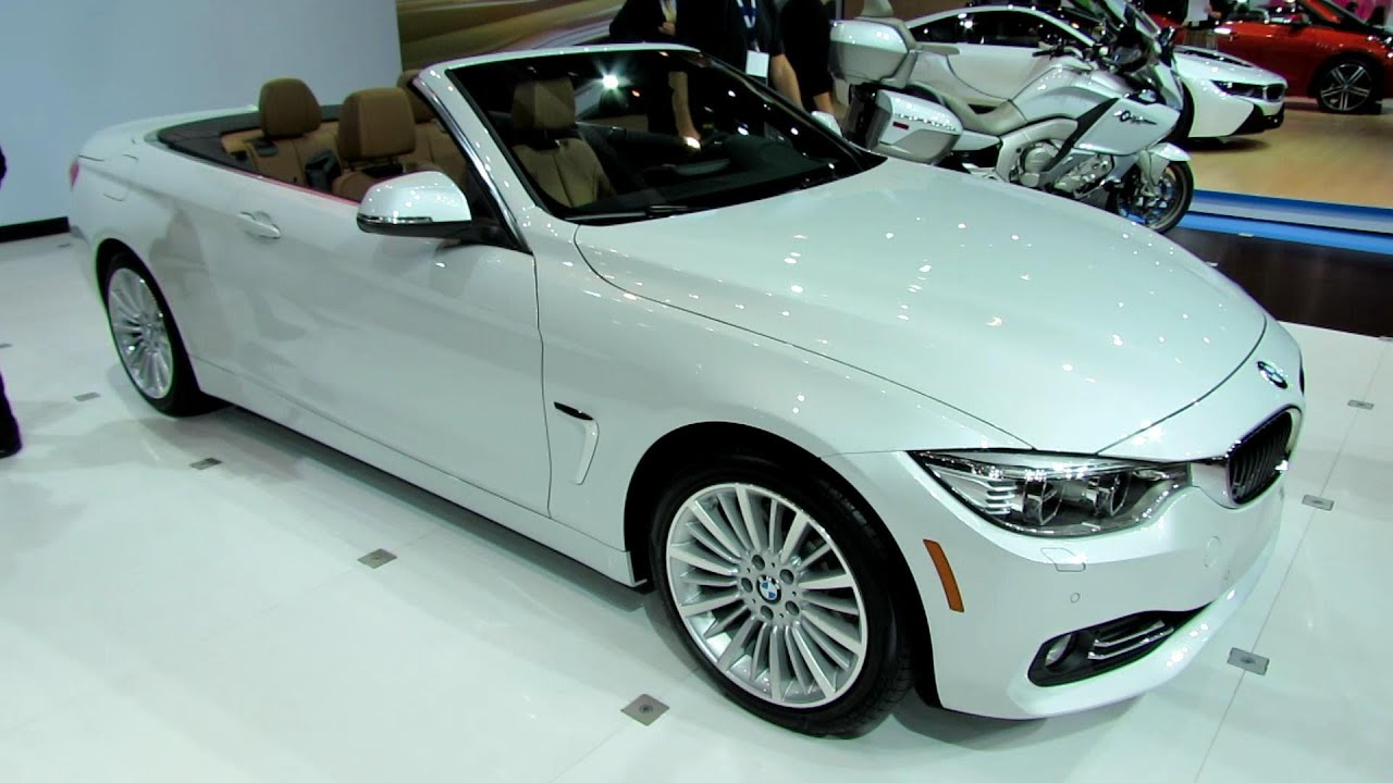 BMW Series I Convertible Exterior And Interior - 2013 bmw 4 series convertible