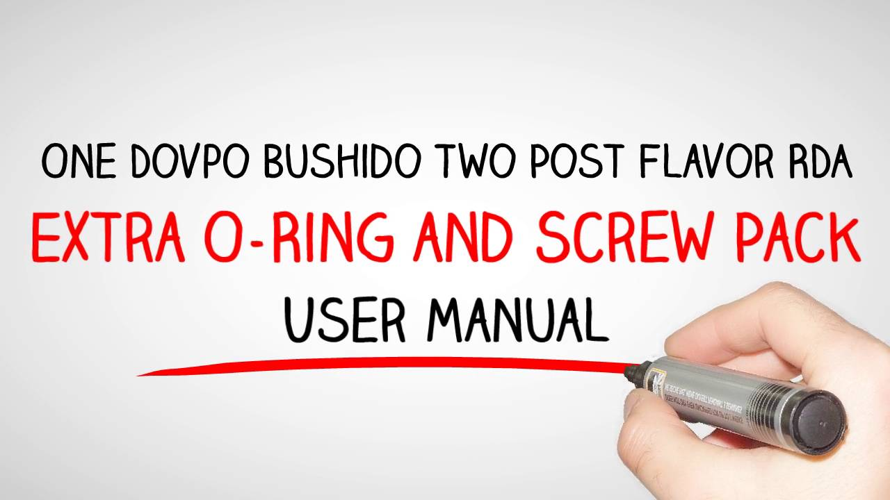 Where to Buy Dovpo Bushido Two Post Flavor RDA with Best Price - YouTube