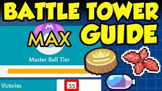 50 Win Streak Battle Tower Guide! THE BEST BATTLE TOWER TEAM FOR POKEMON SWORD AND SHIELD