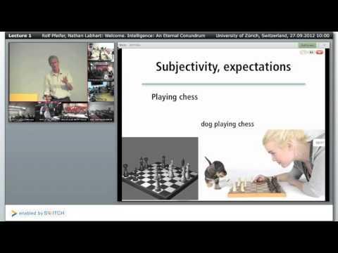 Lecture 1/10: Intelligence -- An Eternal Conundrum [SHAIL 2012]