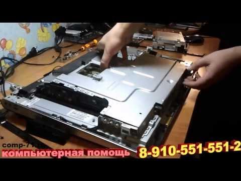 Разборка моноблока HP TouchSmart 600 1160ru
