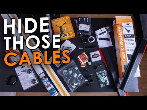 Cable Management Gear - Hide Those Cables!!