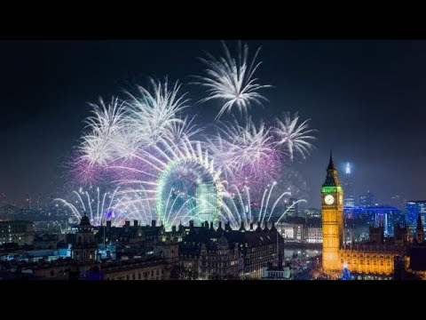 New Year's Eve 2018 - New Year celebrations around the world FIREWORKS
