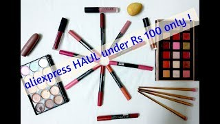 affordable Aliexpress haul || EVERYTHING UNDER 100 || REVIEW || hindi
