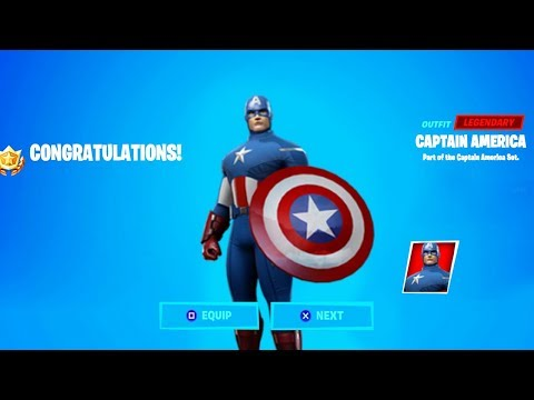 *NEW* CAPTAIN AMERICA SKIN IN FORTNITE! FORTNITE ITEM SHOP LIVE! (FORTNITE ITEM SHOP)