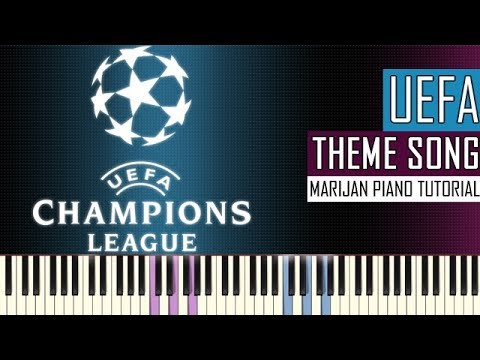 How To Play: UEFA Champions League Hymne - Official Anthem | Piano Tutorial + Sheets