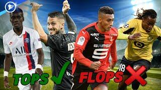 Les tops et flops du mercato estival en Ligue 1