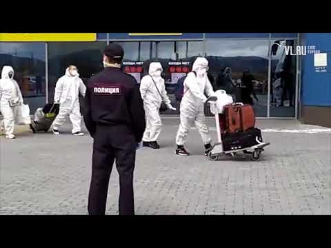 VL.ru – Из Москвы во Владивосток привезли 30 китайцев в защитных костюмах