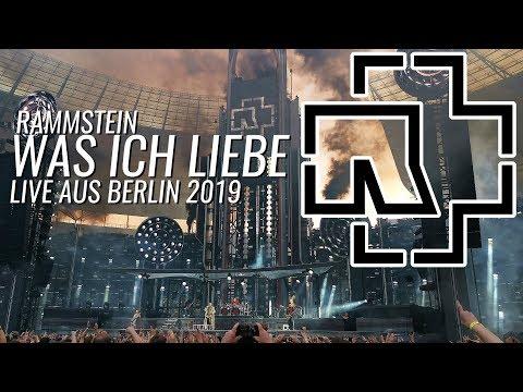 RAMMSTEIN - WAS ICH LIEBE Live Aus Berlin - Olympiastadion Berlin 22.06.2019 - Europe Tour 2019
