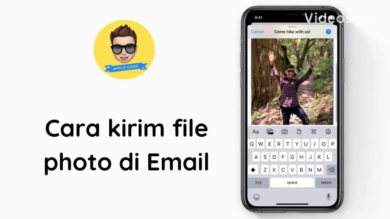 Cara kirim file photo di Email iPhone | Apple Gang Indonesia
