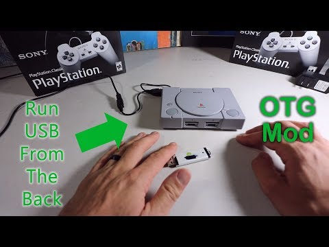 Playstation Classic OTG USB Hack - Simple How To Guide!