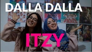 ITZY- DALLA DALLA MV REACTION -[ Tunisian Kpopers ]