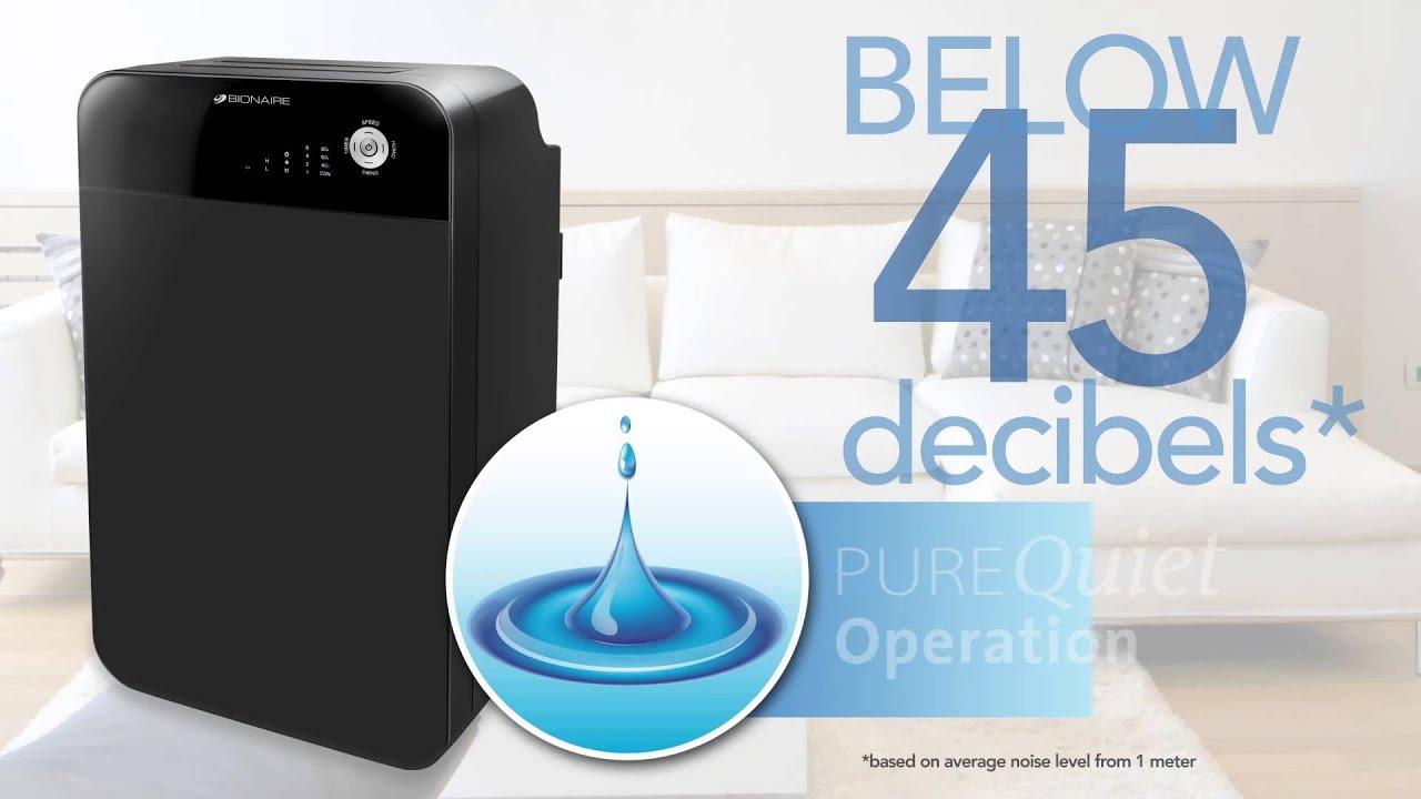 Bionaire 42 Pint 20l Purequiet Dehumidifier