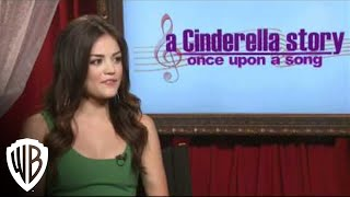 A Cinderella Story: Once Upon a Song - Lucy Hale Interview