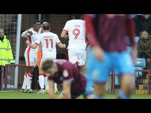 HIGHLIGHTS: Scunthorpe United 2-2 MK Dons