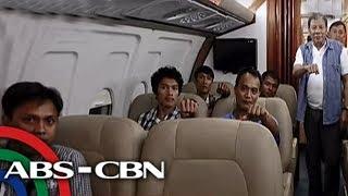 TV Patrol: 9 sugatang sundalo, pinasakay ni Duterte sa presidential plane