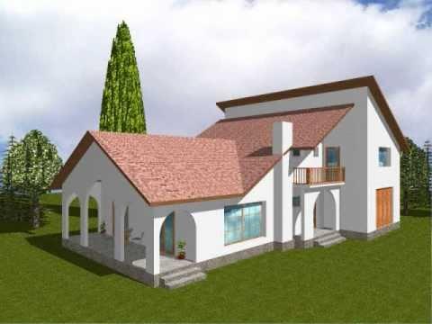 Proiect casa dalia proiecte vile de lux case cu for Youtube case cu mansarda