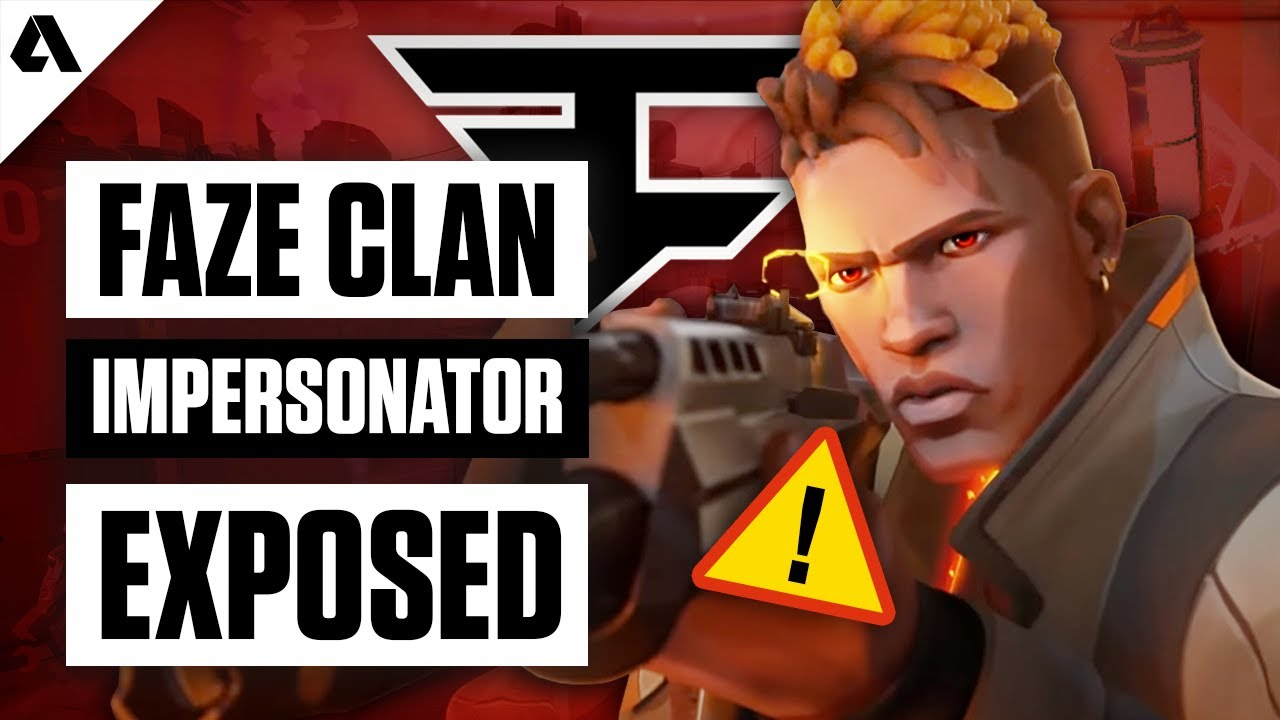 FaZe Clan Impersonator Exposed - VALORANT Players Scammed