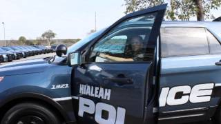 City of Hialeah unveils new police interceptor vehicles