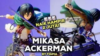 MAINAN MIKASA BIKIN GUE JADI WIBU?!   MIKASA ACKERMAN ATTACK ON TITAN BY FIGMA UNBOXING & REVIEW