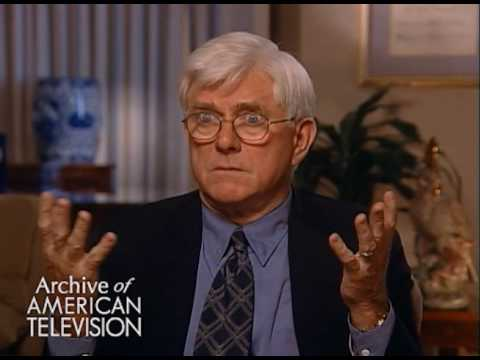 Phil Donahue on interviewing Albert Speer -EMMYTVLEGENDS.ORG