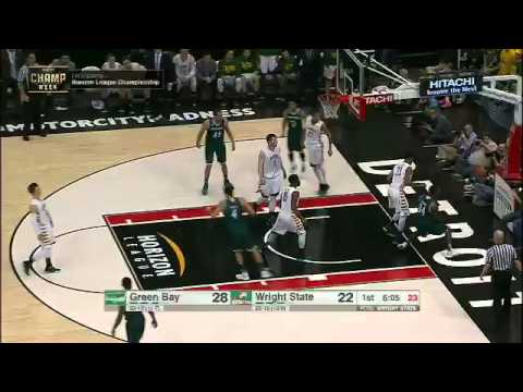 Charles Cooper nasty dunk vs. Wright State