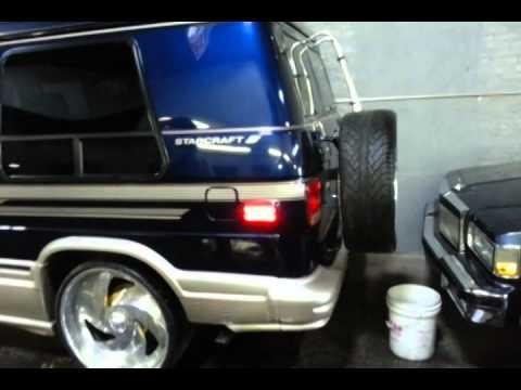 Very Rare 95 Chevy G20 Gt Edition On 26 Billets Youtube