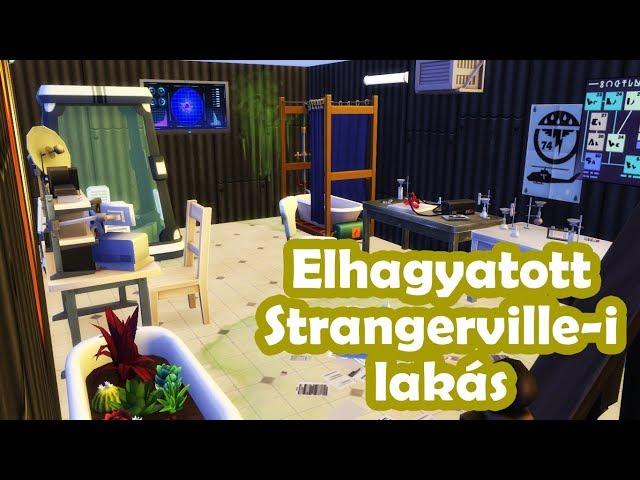 Elhagyatott Ház - The Sims 4 Strangerville