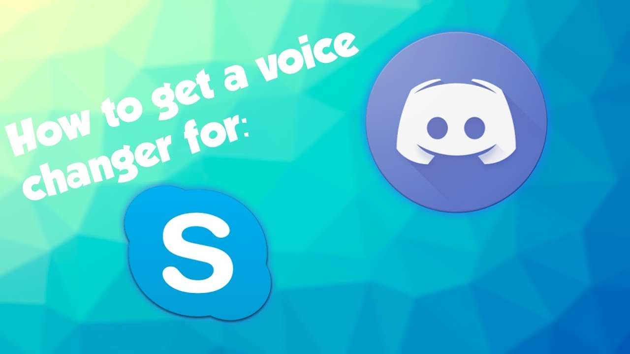 How To Get A Voice Changer For Skype and Discord! | 2017