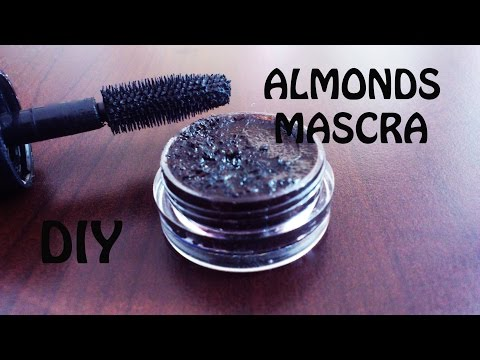 DIY: Mascara made from ALMONDS