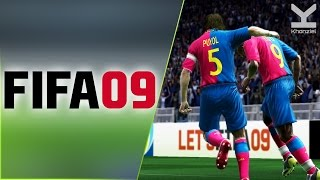FIFA 09 (2008) PC - Barcelona Vs Manchester United