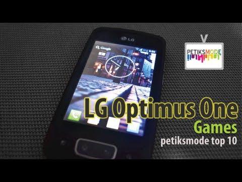 LG Optimus One P500 Games