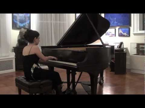 Sofya Melikyan plays F. Chopin Sonata No. 2 Mov.4 at Roerich Museum NY
