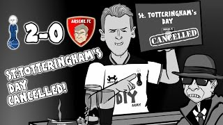 2-0 SPURS vs ARSENAL: St. Totteringham's Day Cancelled!  (2017 Parody Goals and Highlights)