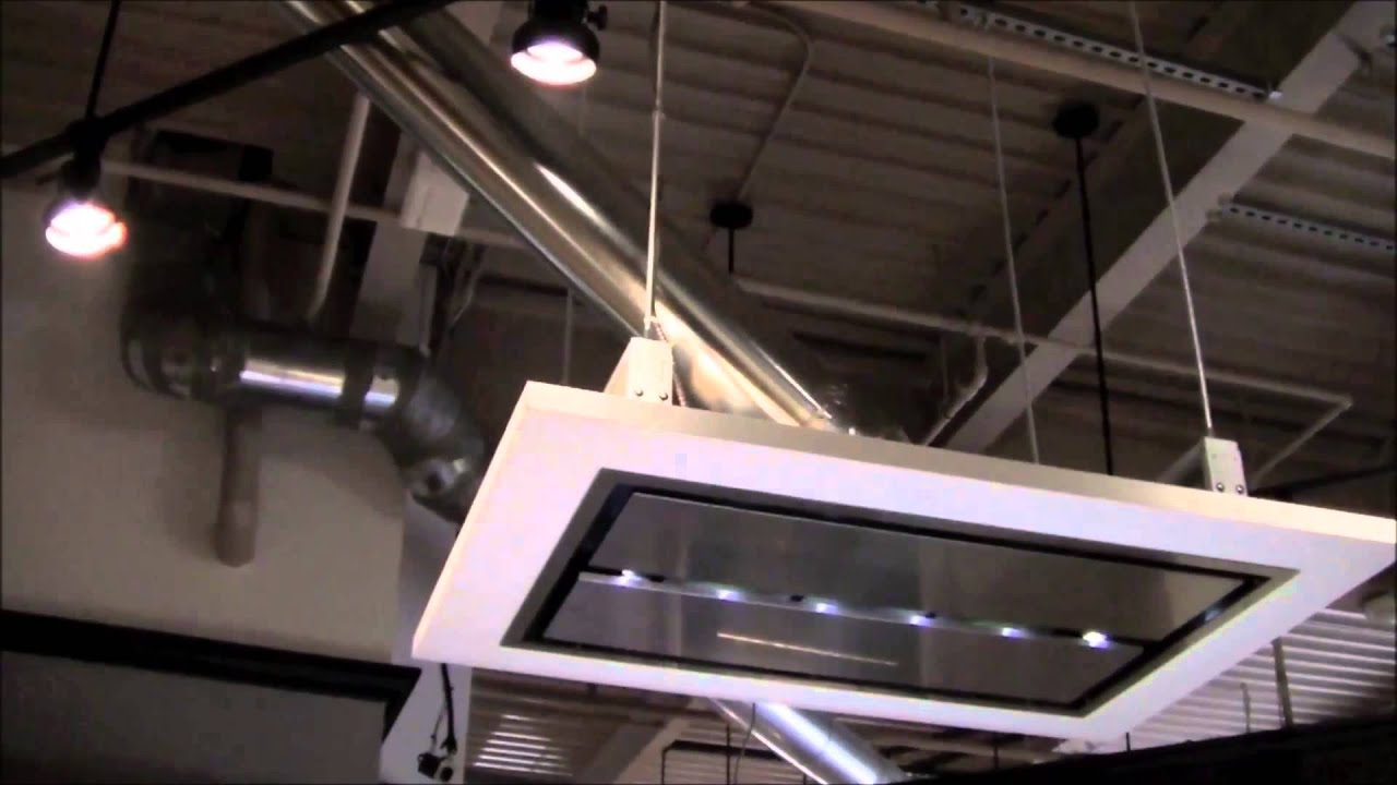 best kitchen hoods steel cabinets cirrus range hood ducting set up youtube