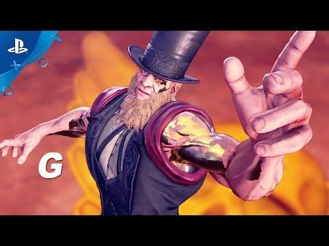 Street Fighter V: Arcade Edition – G Gameplay Trailer   PS4