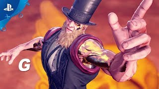 Street Fighter V: Arcade Edition – G Gameplay Trailer | PS4