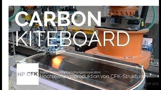 CARBON-KITEBOARD: Herstellung eines Carbon-Kiteboard im AFP