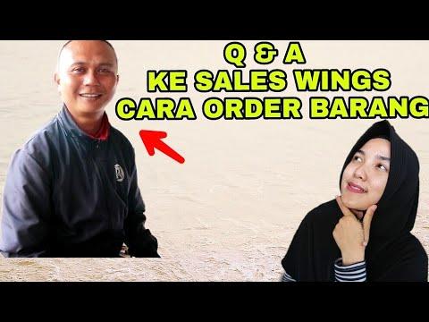 Cara Order Ke Sales Wings Tanya Langsung Youtube